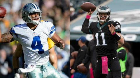 It's a great week to wager on rookie QBs (and more)
