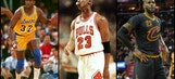 Every NBA team's greatest player ever, ranked from 30 to 1