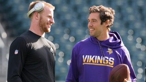 Vikings acquire QB Sam Bradford from Eagles