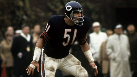 Chicago Bears: Draft picks for Hall of Famer Dick Butkus