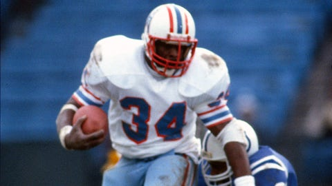 Tennessee Titans: Trading up for Earl Campbell