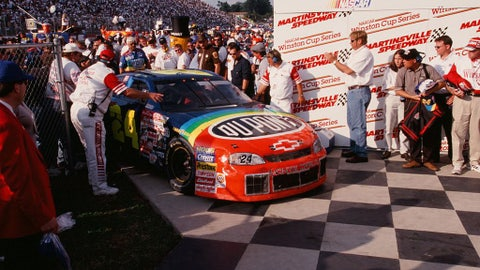 Oct. 1999 - Jeff Gordon, 92