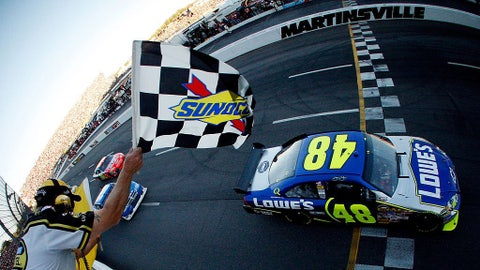 Oct. 2007 - Jimmie Johnson, 164