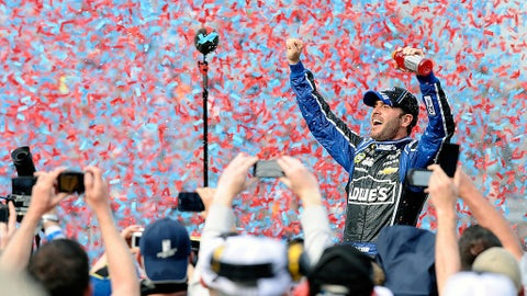 Oct. 2012 - Jimmie Johnson, 207