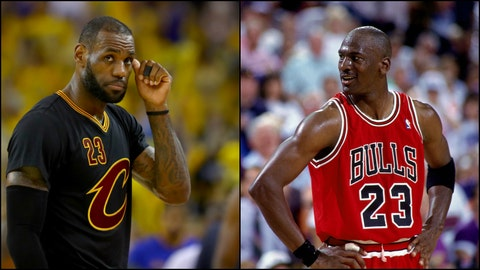 A Warriors win puts a lid on the MJ/LeBron discussions