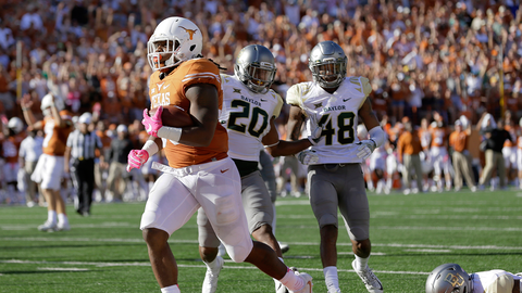 No. 8 Baylor (lost 35-34 to Texas)