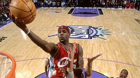 Year One (LeBron James: 2003-04; Michael Jordan: 1984-85)