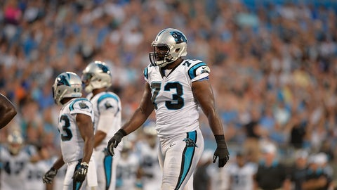 Michael Oher, LT, Panthers (concussion): Out