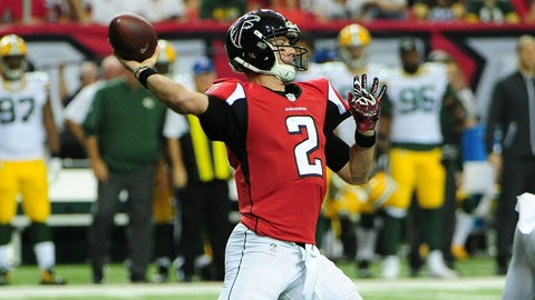 Quarterback: Matt Ryan, Falcons
