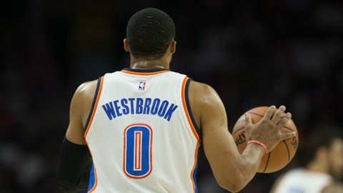 ... but Westbrook will keep it interesting