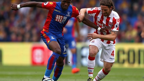 10. Wilfried Zaha, Crystal Palace