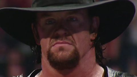 The Undertaker's WrestleMania streak was alive and well