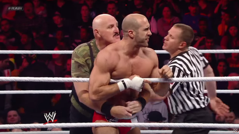 Sgt. Slaughter: 64 years old (Raw, 2012)