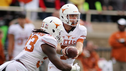 Texas Longhorns (5-4, 3-3 Big 12)