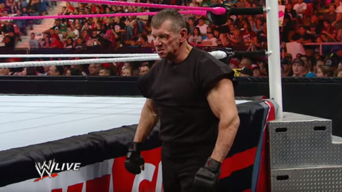 Vince McMahon: 67 years old (Raw, 2012)