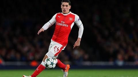 13. Hector Bellerin, Arsenal (tie)