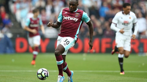 16. Michail Antonio, West Ham