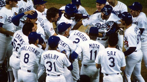 Los Angeles Dodgers (28 years)