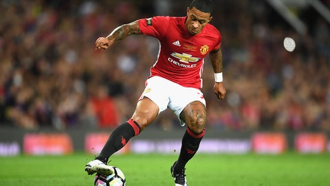 Memphis Depay, Manchester United