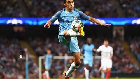 18. Jesus Navas, Manchester City (tie)