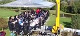 Hoffenheim enjoy team dinner in the sky