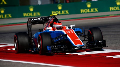 22. Esteban Ocon (Manor)