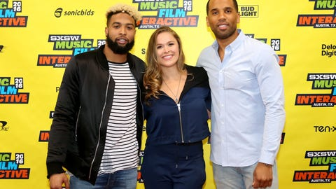 March 13: Rousey attends SXSW