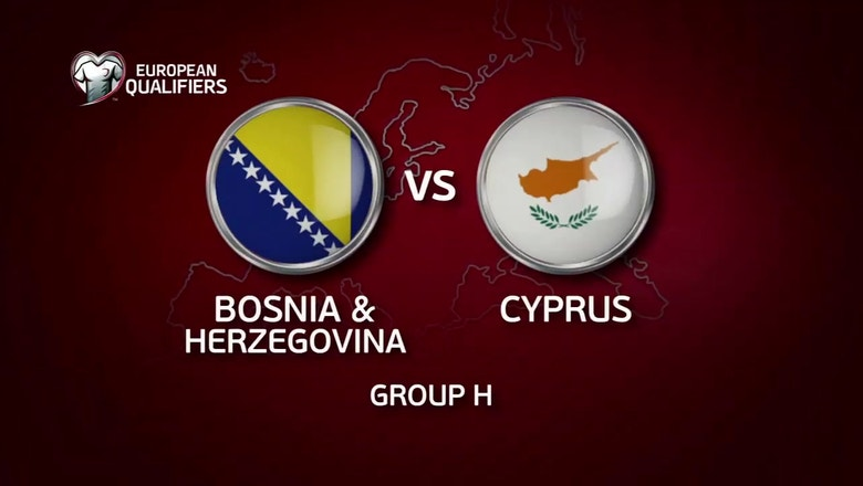 Bosnia-Herzegovina vs. Cyprus | 2016 European Qualifiers