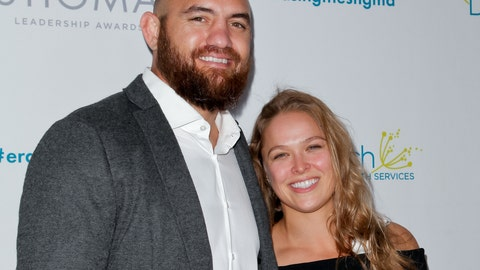 April 28: Rousey attends the Erasing the Stigma leadership awards