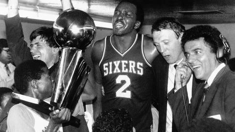 Philadelphia 76ers - 3 NBA Championships
