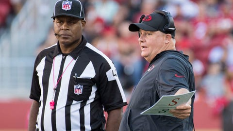 Someone get an ice pack: Chip Kelly, San Francisco 49ers (1-6)