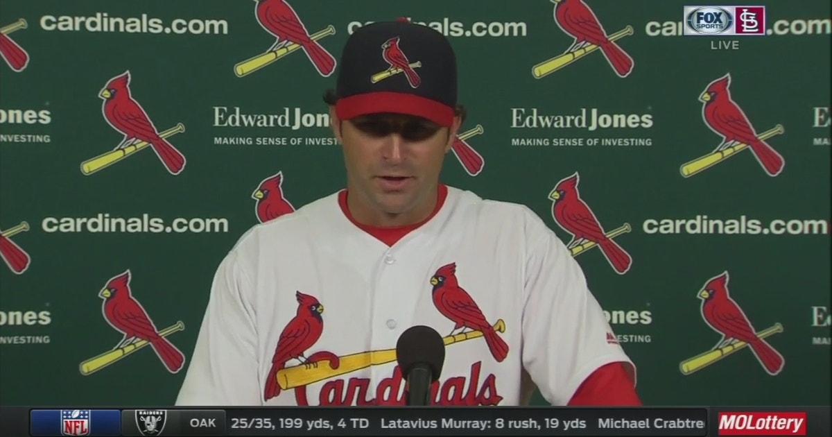 d03669e03 Mike Matheny thanks Cardinals fans