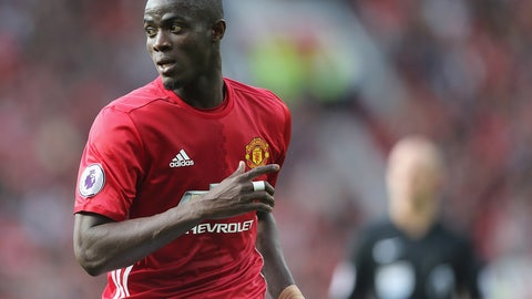 7. Eric Bailly, Manchester United (tie)