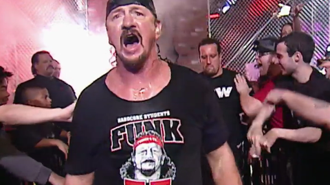 Terry Funk: 62 years old (One Night Stand, 2006)