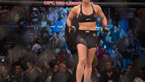 Sept. 5: Rousey defends MMA as a healthy outlet for violence