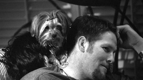 Brett Favre's dog, Jaz