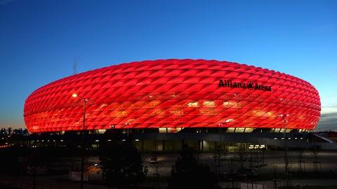 Allianz Arena (Bayern Munich): €89.8M