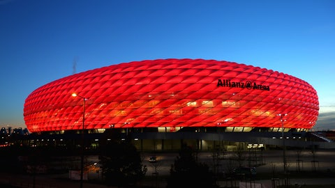 Allianz Arena (Bayern Munich): €89.8M