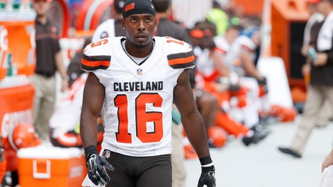 WR: Andrew Hawkins, Cleveland Browns: 5-7, 180 pounds