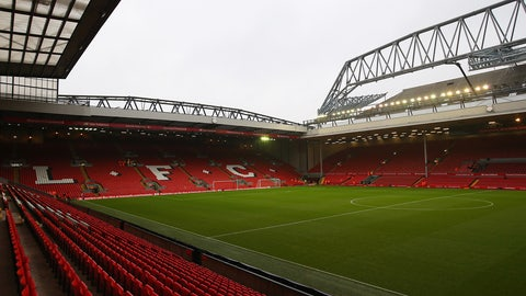 Anfield (Liverpool): €75M
