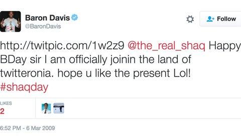 Baron Davis: The Land of Twitteronia