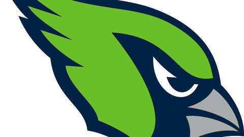 Arizona Cardinals (Seahawks colors)