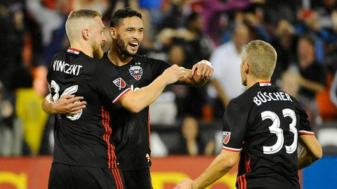 D.C. United: Clinched playoffs