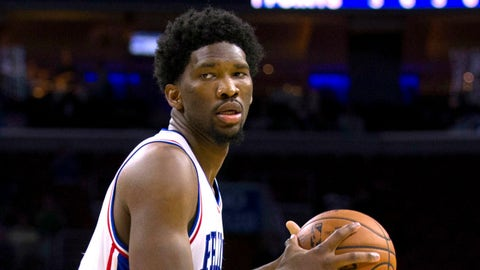 Joel Embiid has been among the most impressive