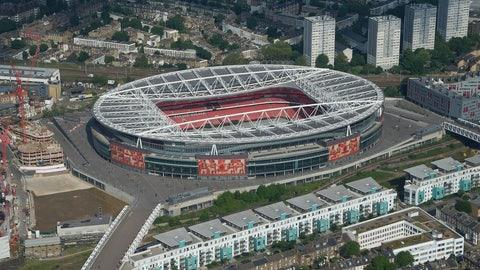 Emirates Stadium (Arsenal): €132M
