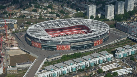 Emirates Stadium (Arsenal): €132M