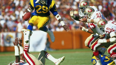 The trade: Rams RB Eric Dickerson to the Colts in a three-team deal (1987)
