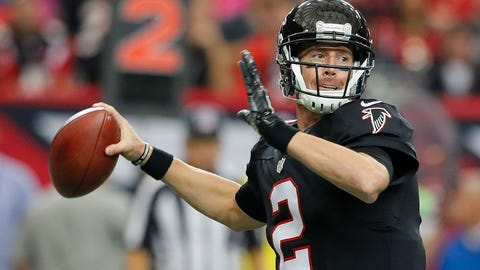 Matt Ryan is outstanding at home