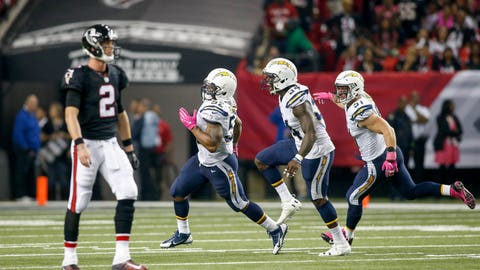 Chargers 33, Falcons 30 (OT)