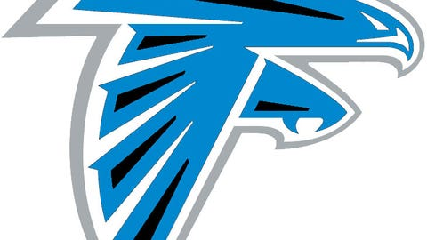 Atlanta Falcons (Panthers colors)